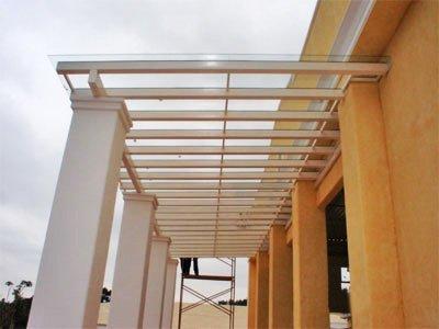 Cobertura de Vidro e Pé Direito